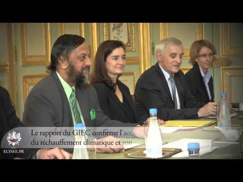 GIEC Rapport Sur L'évolution Du Climat