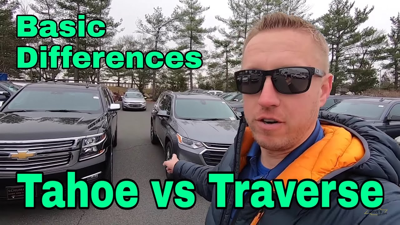 2019 Chevrolet Tahoe vs Traverse - seating and cargo space ...