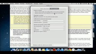 TextEdit  -Preferencias y Exportar a HTML-