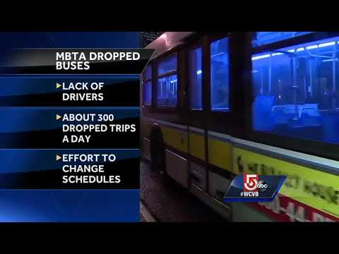 MBTA Cites Lack Of Bus Drivers