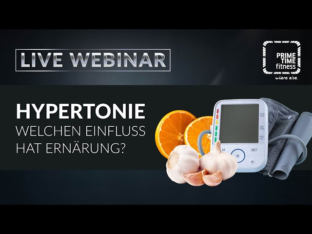 Hypertonie und die richtige Ernährung