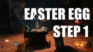 Black Ops 3 Shadows of Evil EASTER EGG Tutorial ! Step One - NERO ALIEN WORM RITUAL