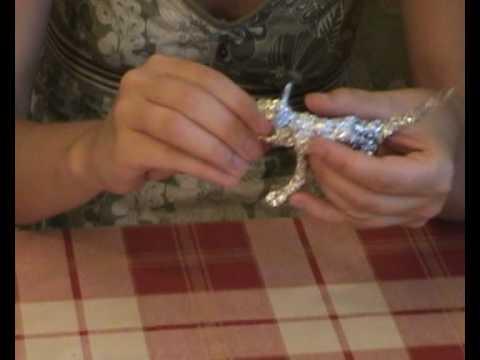 Как сделать бусы из фольги своими руками мастер-класс
