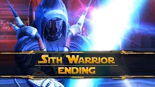 Star Wars The Old Republic - Sith Warrior Ending(Dark Side)