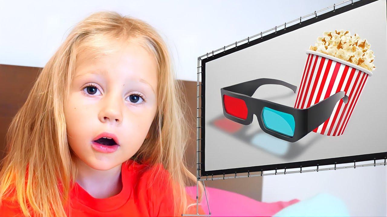 Download Nastya veut aller au cinéma avec son père, contes d'enfants français