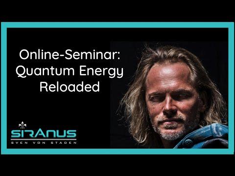 Live Webinar: Quantum Energy Reloaded