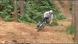 Школа горного велосипеда. Урок 4. Прохождение поворотов и срезы