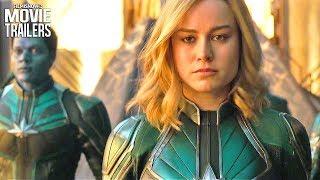 Baixar CAPTAIN MARVEL First Look Trailer NEW (2019) - Brie Larson Superheroine Marvel Movie