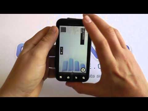 Motorola DEFY + (DEFY Plus) MB526 Android Smartphone Software Tour