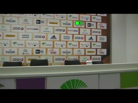 Post Game Press Conference: Unicaja vs. Crvena Zvezda Telekom Belgrade