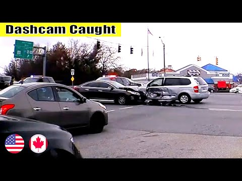Ultimate North American Cars Driving Fails Compilation - 136 [Dash Cam Caught Video]