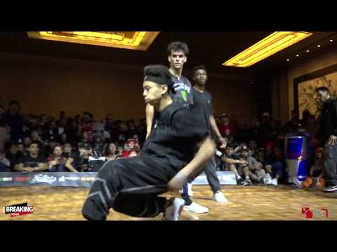 Monster Energy Vs Rock Force - Top 8 - Freestyle Session World Finals 2019 - Pro Breaking Tour - BNC