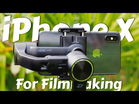 iPhone X for Filmmaking