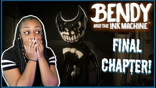 I SEE THE LIGHT!!! | Bendy and the Ink Machine FINAL CHAPTER 5 Gameplay!!!