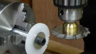 Repeat youtube video 歯車の自動製作
