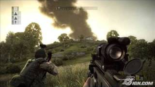 Operation Flashpoint Dragon Rising German NeW Gameplay Video