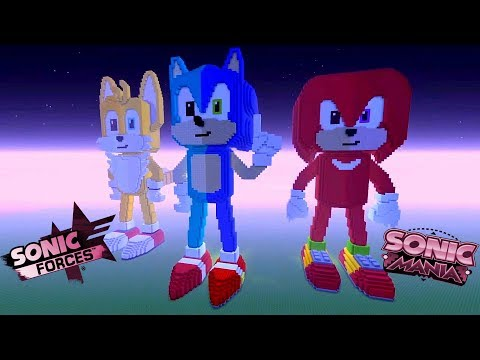 Sonic Mania / Sonic Forces Statue Showcase