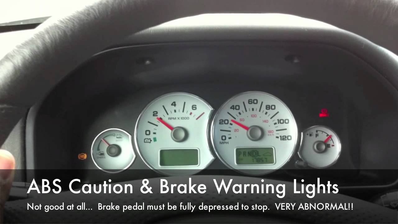 Ford Escape Hybrid Brake Problem Youtube
