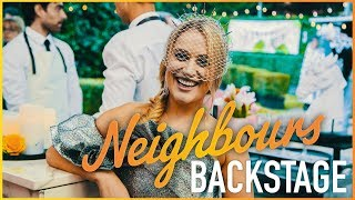 Neighbours Backstage - Zima Anderson (Roxy Willis) Cosentino Wows Zima!