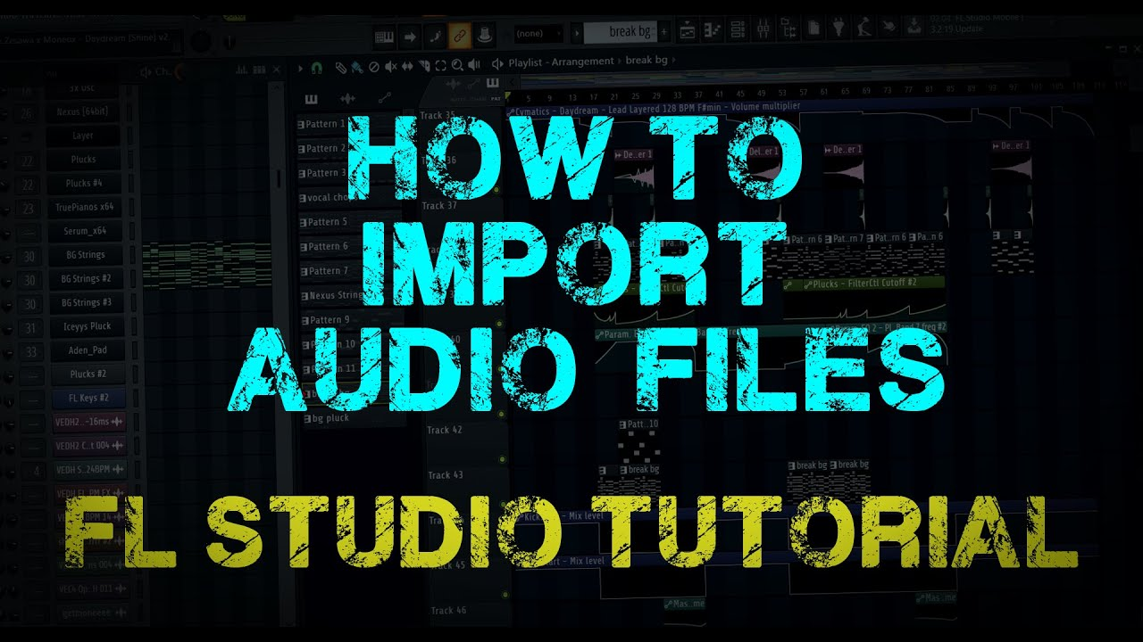 how to add a song to fl studio