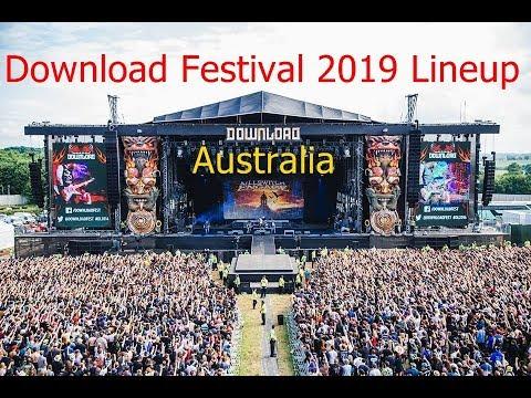 Download Festival 2019 Lineup Australia: Download Lineup 2019 Music Festival Mp3