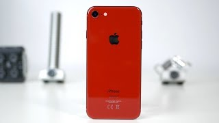 iPhone 8 Product RED unboxing