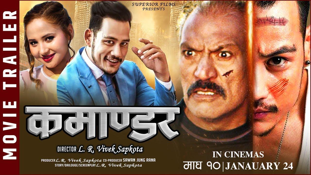 Nonton COMMANDER - New Nepali Movie Trailer || Anup Bikram Shahi, Robin Tamang, Prem Sharma