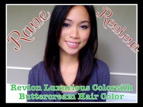 Review Revlon Luxurious Colorsilk Buttercream Hair Color