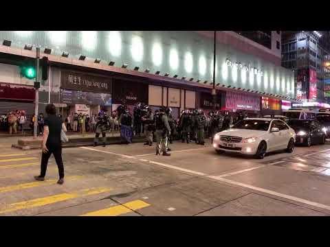 【香港直播20200527】旺角反對國安法-大紀元黃瑞秋報道