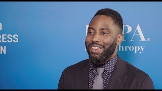 HFPA Grants Banquet 2018 Lounge: John David Washington