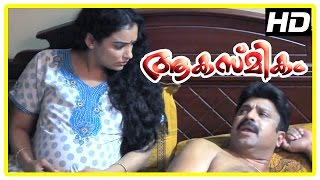 Repeat youtube video Akashmikam Malayalam Movie | Malayalam Movie | Siddique Fights with Swetha Menon | 1080P HD