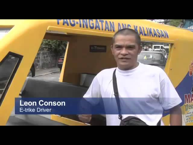 In the Philippines, E-trikes Are Driving Change