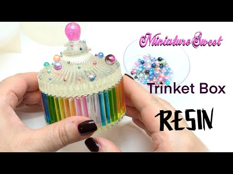 Trinket Box - UV resin- Epoxy resin- DIY- Resin Crafts
