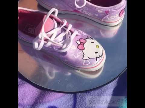 6c1924364f Airbrushed Hello Kitty Shoes   Vans - YT