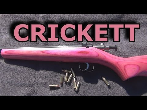 A GREAT CHOICE FOR YOUR CHILD'S FIRST RIFLE | THE CRICKETT