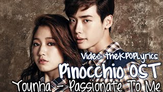 [Eng/Rom] Younha - Passionate To Me (뜨겁게 나를) Pinocchio OST