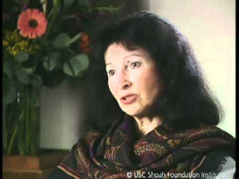 Jewish Survivor Rachel Gottstein Testimony