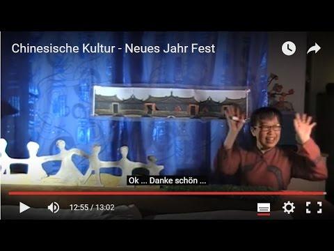 Chinesische Kultur - Neues Jahr Fest