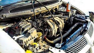 видео Video Chrysler Voyager замена радиатора охлаждения инструкция