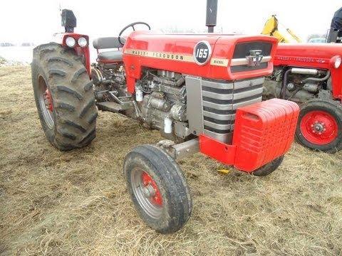 Massey Ferguson Tractors Sold On Alberta, Canada Farm Auction 4/26/13