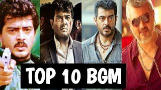 Top 10 Ajith bgm