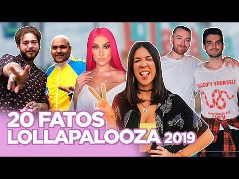 LOLLA 2019: LOOKS POST MALONE E KEVIN SAM SMITH ROLEZERO BOCA ROSA COM PERUCA DA LUD FoquinhaFBI