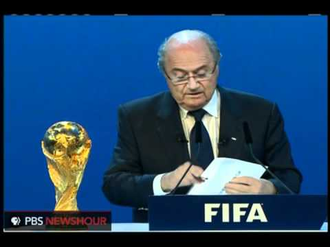 FIFA Announces Russia, Qatar as World Cup Hosts for 2018, 20