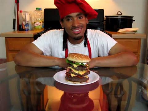 How to make a Triple Bacon Cheeseburger
