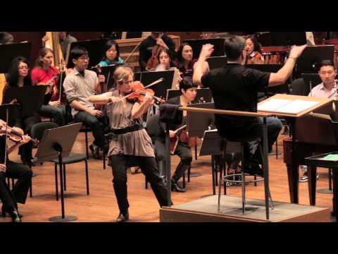 "Leila Josefowicz & John Adams on Adams's ""Scheherazade.2"""