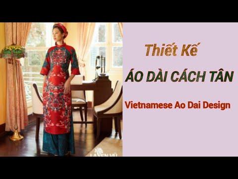 #031 - Hướng Dẫn Cắt Áo Dài Cách Tân Đẹp |le fashion |Vietnamese Ao Dai Design |Dạy cắt may onlien