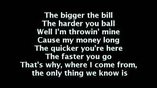 Wiz Khalifa - Work Hard Play Hard (Lyrics On Screen)
