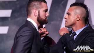 UFC 'The TIme is Now' staredowns