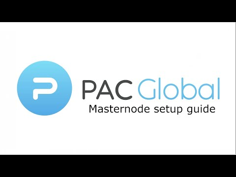 How To Set Up A PAC Global Masternode [Tutorial]