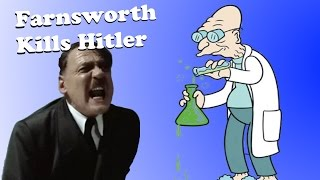 Professor Farnsworth kills Hitler